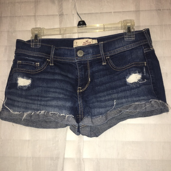 Hollister Pants - Hollister jeans shorts.
